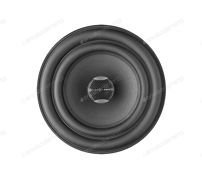Speaker isolated on white