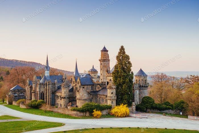 Beautiful view of old castle