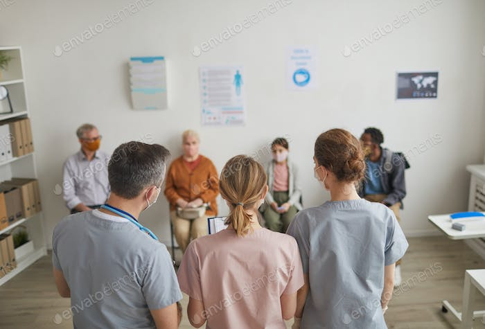 Patients Visiting Clinic
