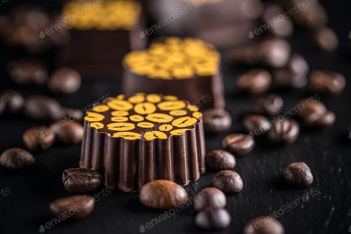 Chocolate praline