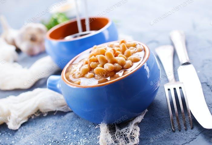 white bean