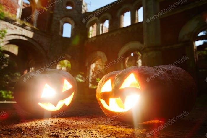 Halloween grins