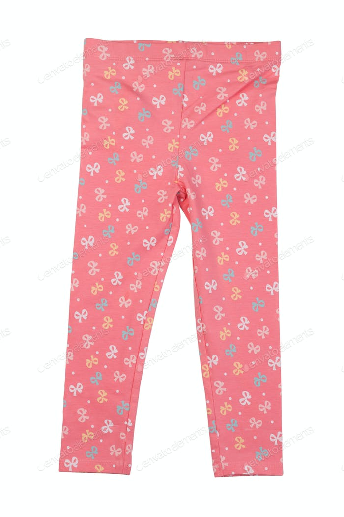 Cotton pink pants home.