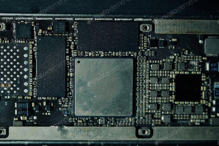Tablet computer motherboard