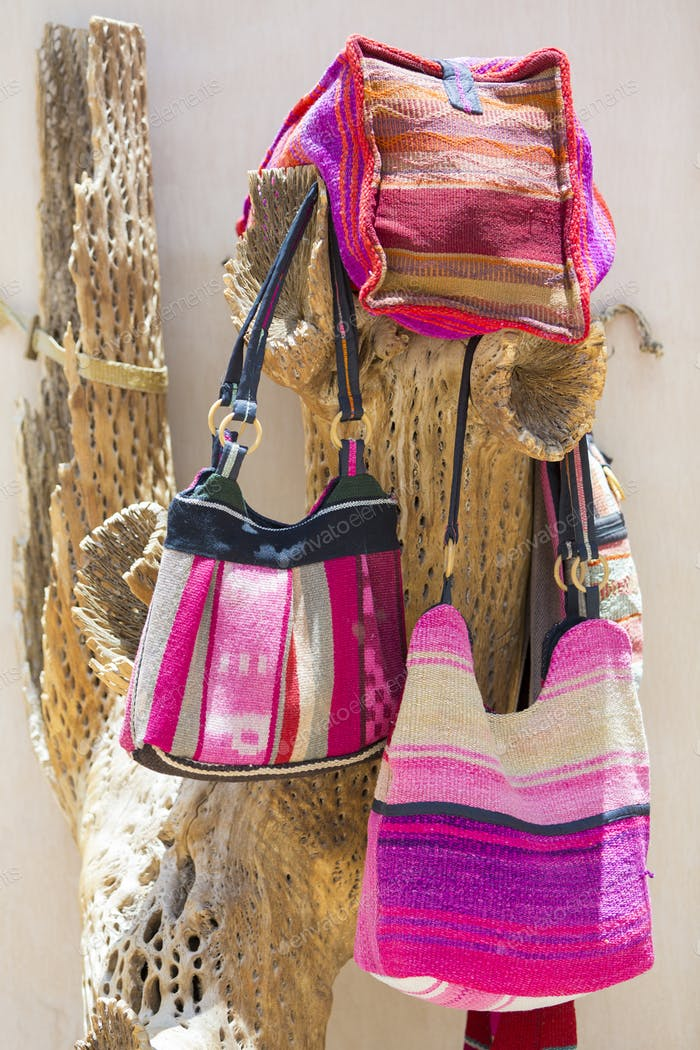Traditional handmade products in Purmamarca, Argentina