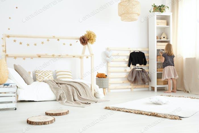 Scandi bedroom design