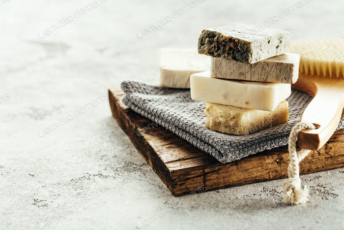 Natural homemade soap