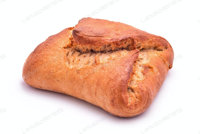 Sweet bread isolated