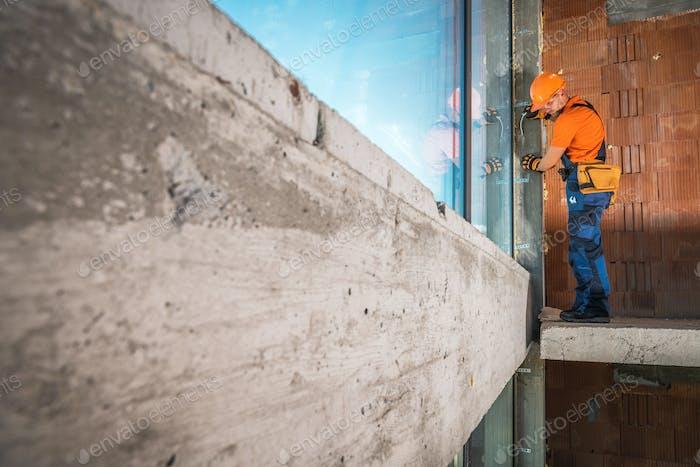 Aluminium Commercial Windows Installation