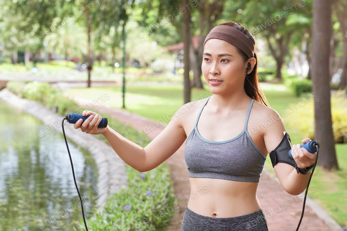 Cardio with skipping rope