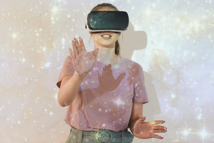 Studying astronomy with virtual reality