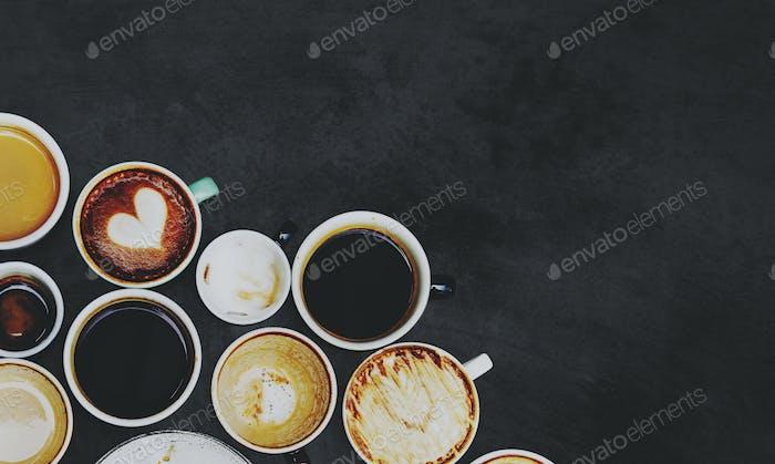 Kaffeetasse Sammlung