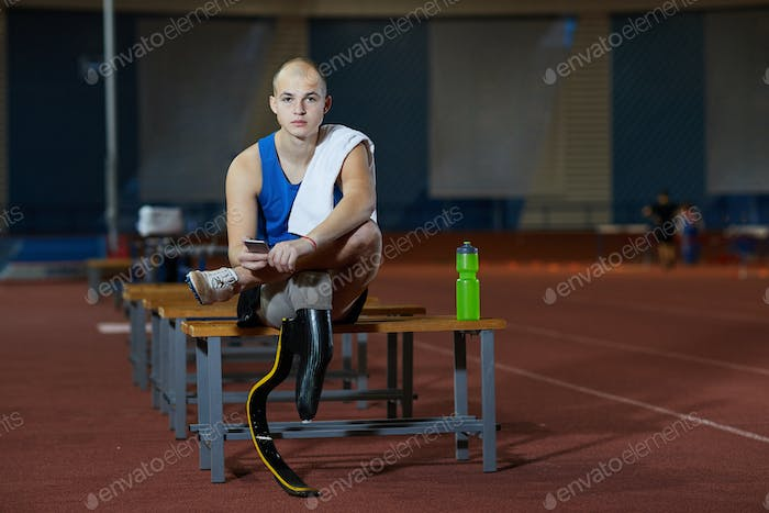 Paralympic competitor