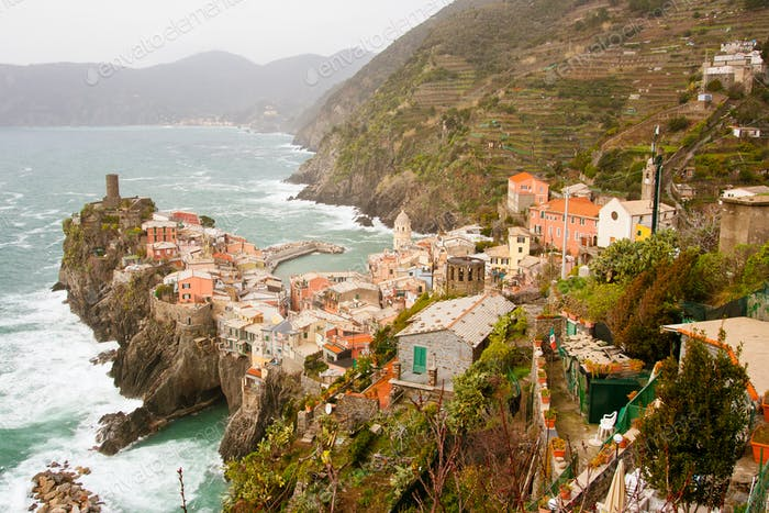 View Over Vernazza