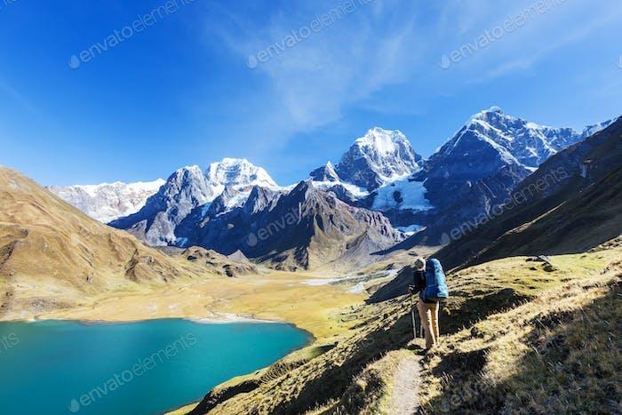 Caminata en Perú
