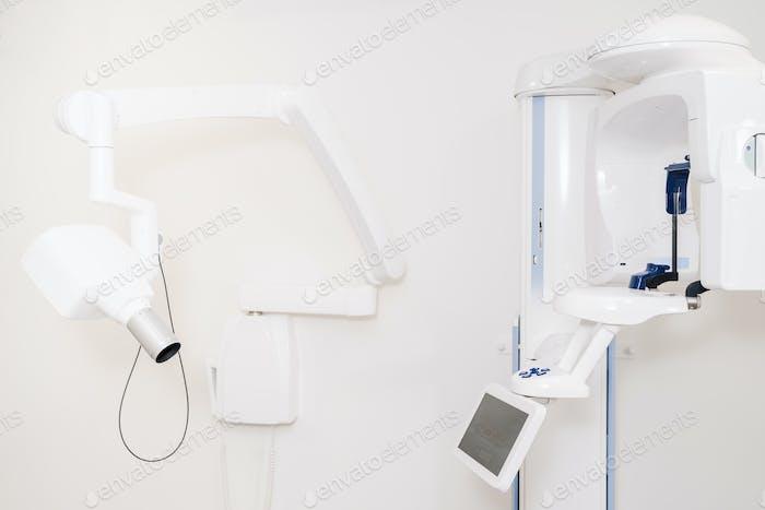 Modern dental scanning equipment