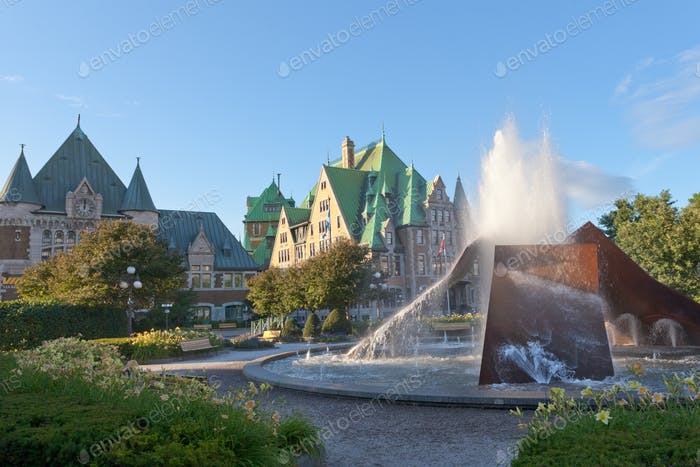 Quebec City Gare du Palais train station Canada