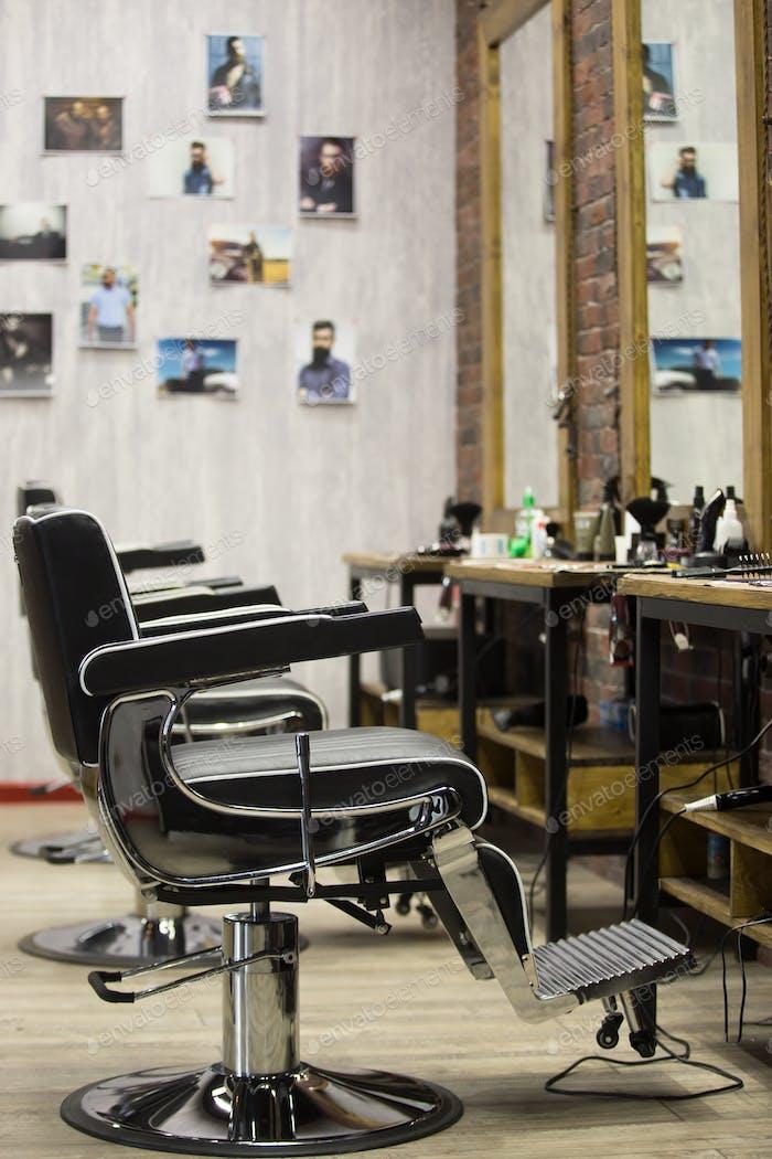 Barbier Shop Interieur