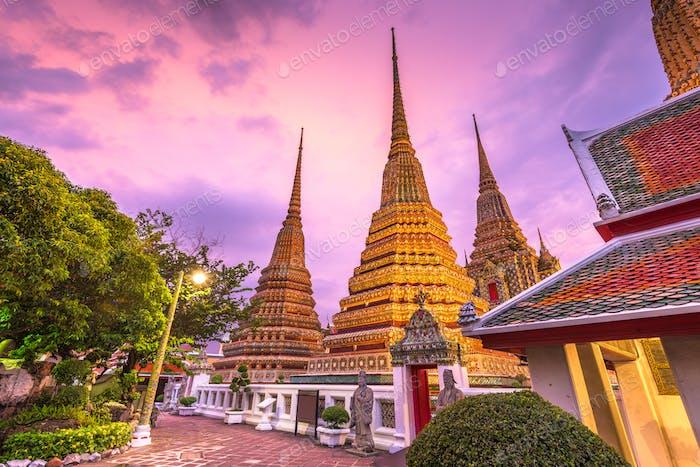 Wat Pho Tempel in Bangkok, Thailand.
