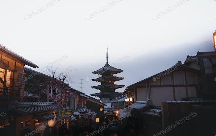 Japanische Touristenattraktion