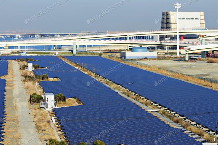 Solar energy station