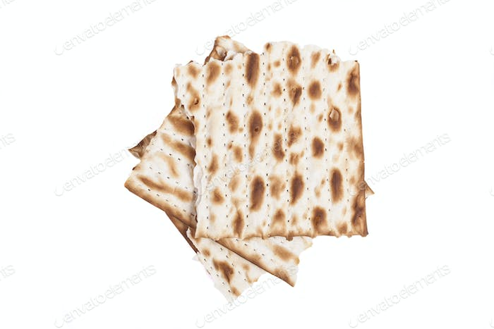 Broken Matzah Pieces