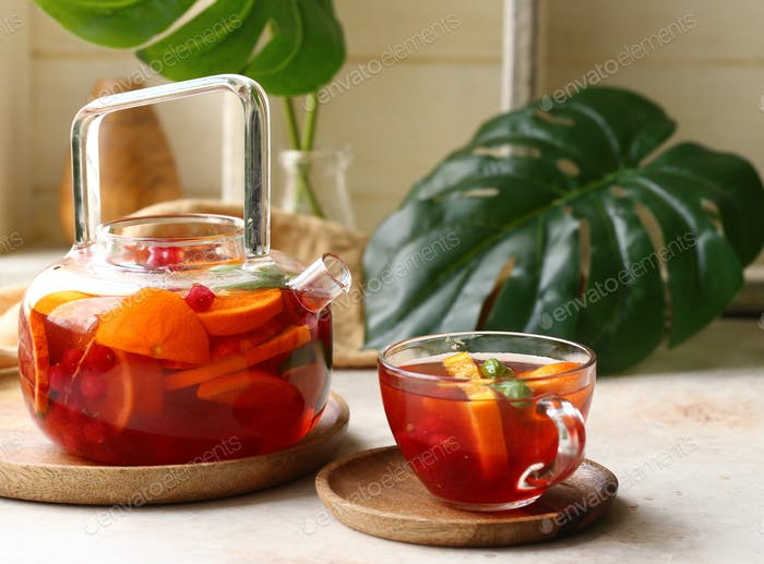 Citrus Fruit Tea