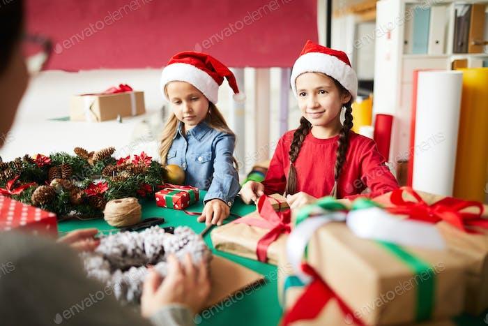 Weihnachtsmann Geschwister