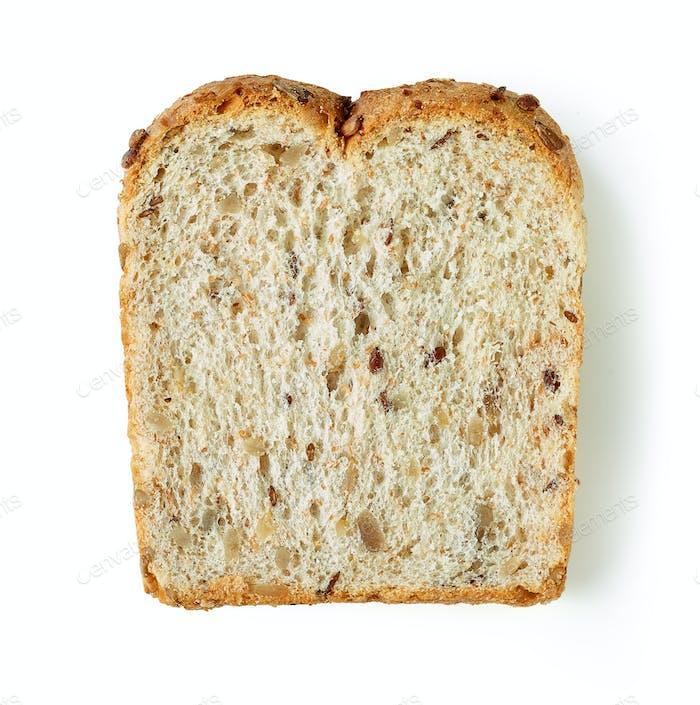 single slice of bread