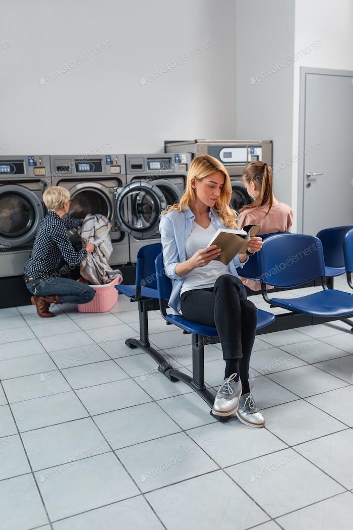 Tiempo en lavandería