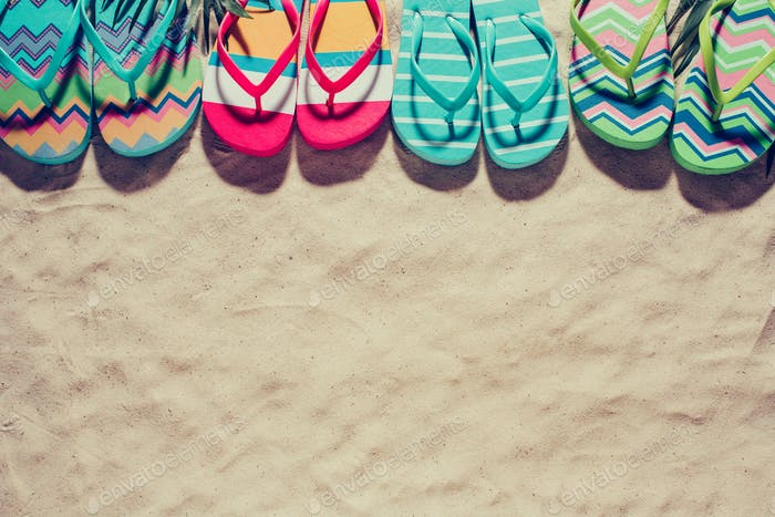 Colorful beach Slippers