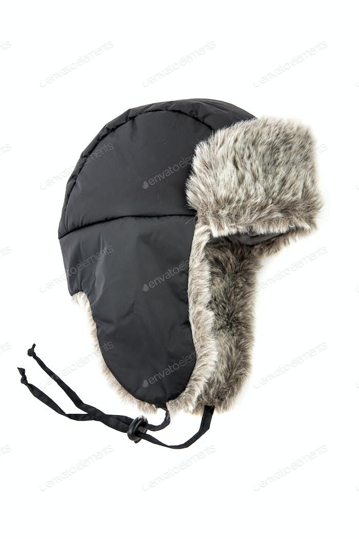 children's fur cap