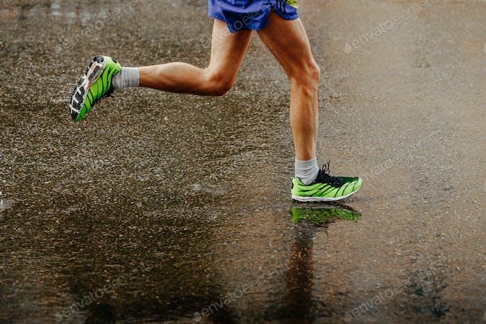 Beine Athlet Läufer