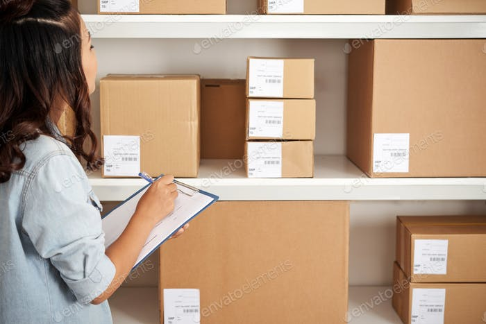 Online shopping parcels