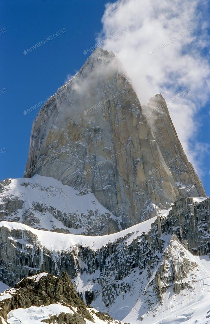 Der Gipfel des Mount Fitz Roy