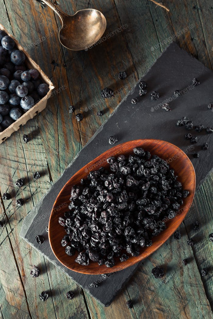 Healthy Raw Dried Blueberries