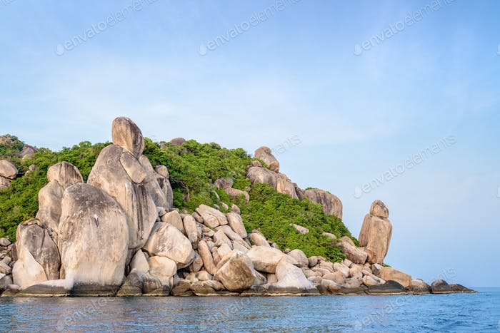 Buddha Point at cape in Ko Tao island