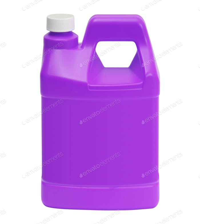Waschmittelflasche für flüssige Wäsche