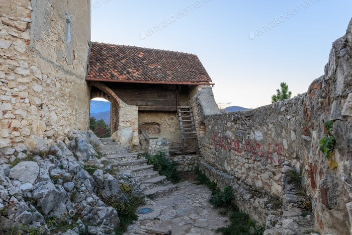 Zitadelle von Rasnov, Rumänien
