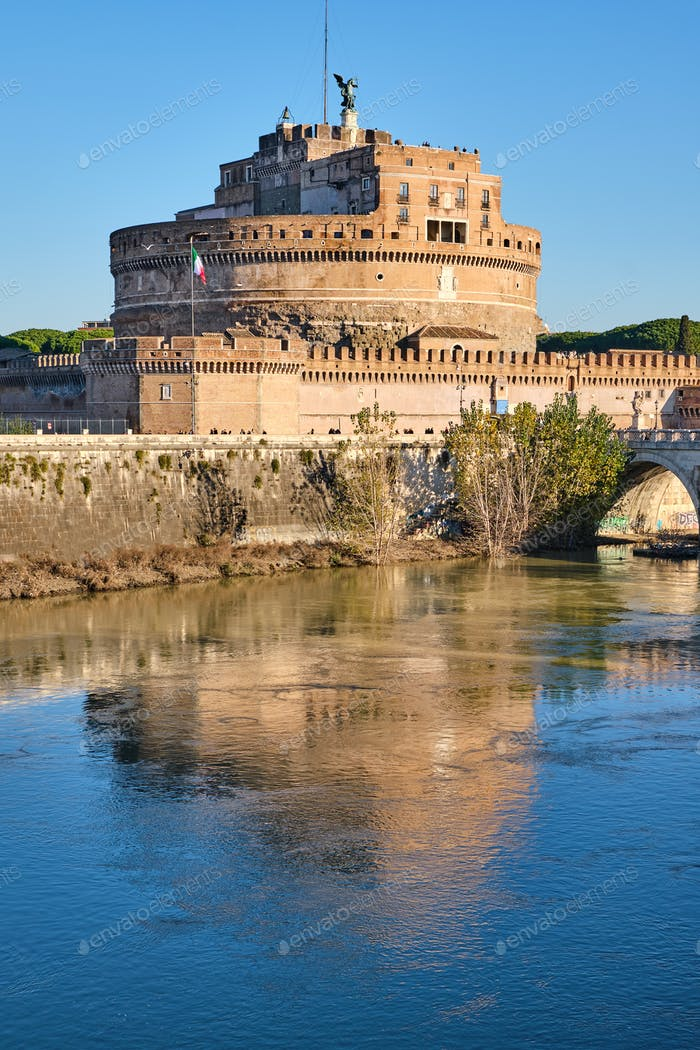 The Castel Sant Angelo in Rome