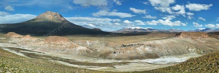 """Curious rock formations of """"Valle de la felicidad"""""""