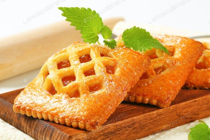 Kleine Aprikosenkuchen