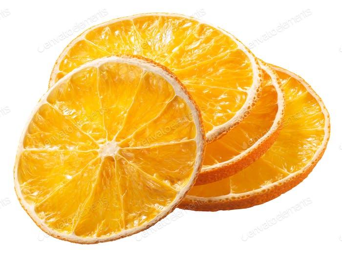 Orange Chips Chips getrocknete Scheiben, Wege