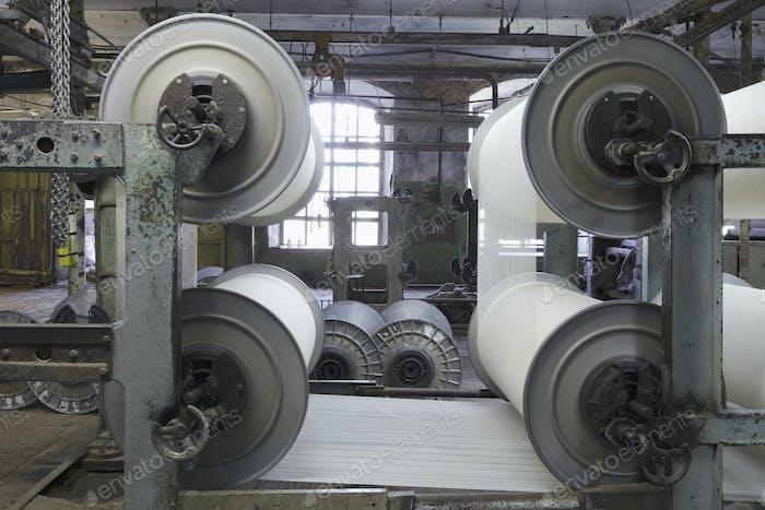 Canvas Manufacturing Machine