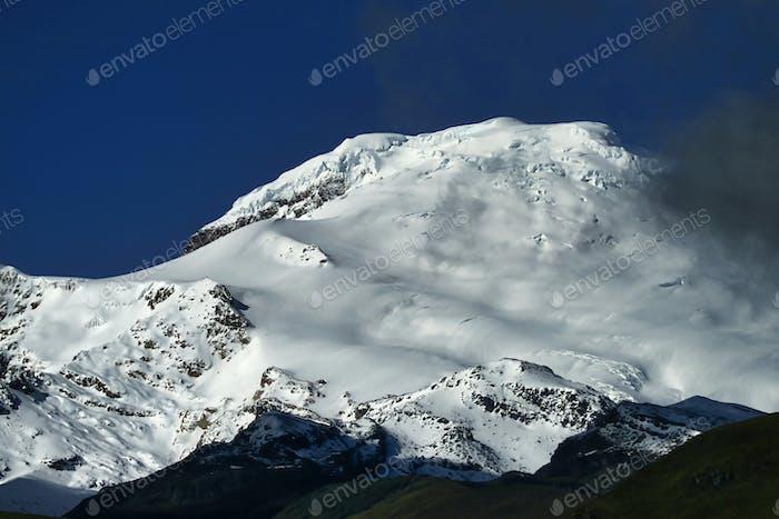 Antisana Stratovolcano, Ecuadorian Andes, Ecuador