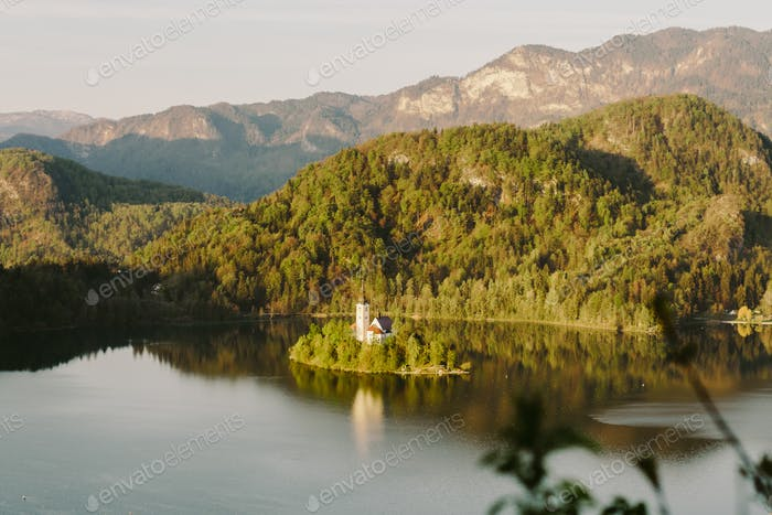 See Bled Slowenien Insel