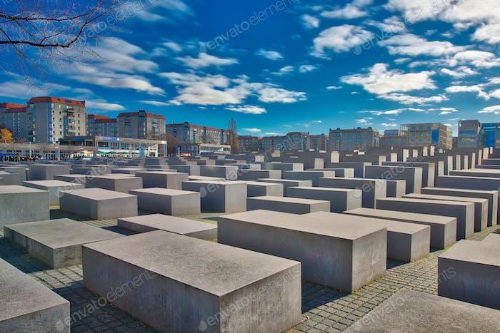 Holocaust-Gedenkstätte Berlin Deutschland