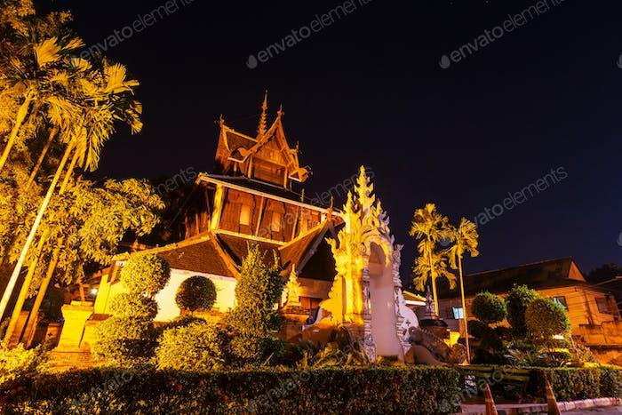 Night temple