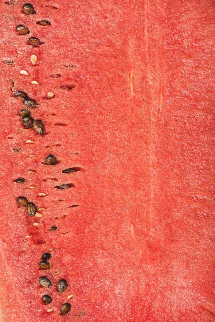 Juicy ripe watermelon texture