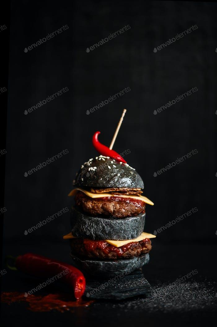 Black Burger, Background